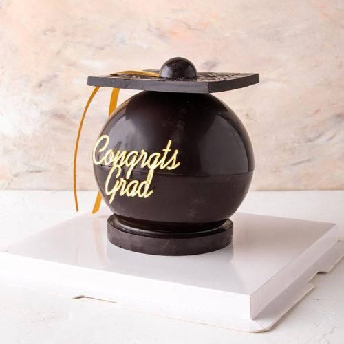 3D Chocolate Graduation Hat by NJD