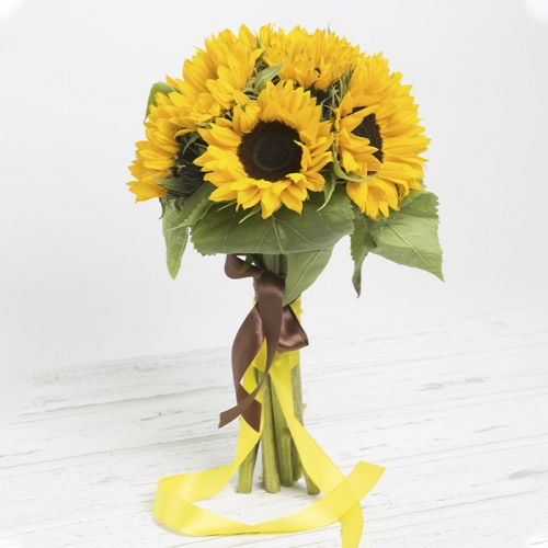 10 Stems Of Sunflower Bunch
