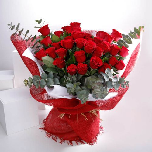 BUNCH OF 36 RED ROSE