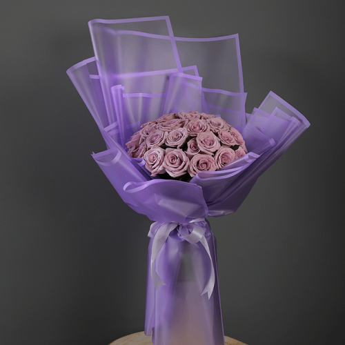 Bouquet of Purple Roses