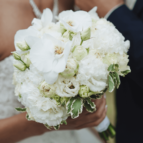 Bridal Bouquet - All White