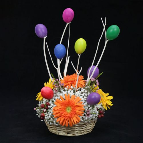 Colorful Easter Basket