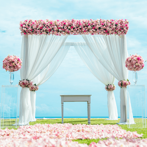 Floral Arch - Pink