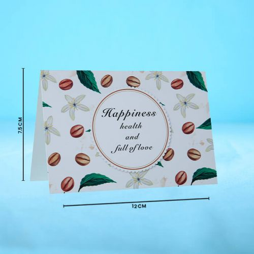 Happiness - Message Card