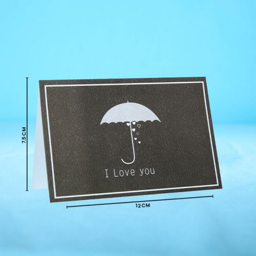 I Love You - Message Card