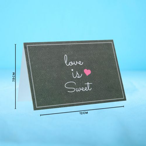 Love is Sweet - Message Card
