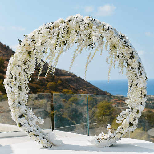Luxury Floral Arch