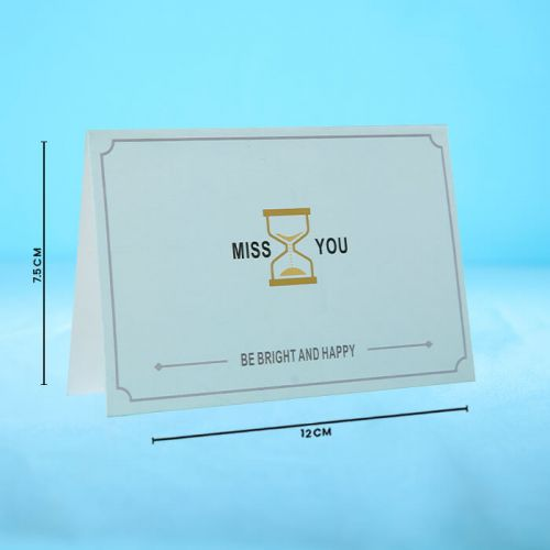 Missing You - Message Card