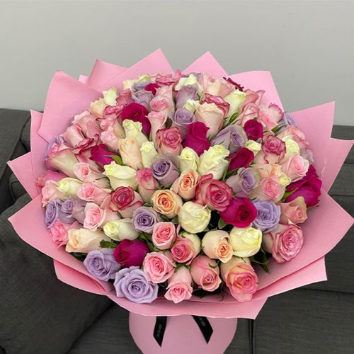 Charming Mix Roses Bouquet