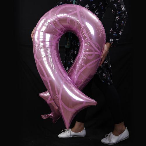 Support The Fight - Breast Cancer Awareness Balloon