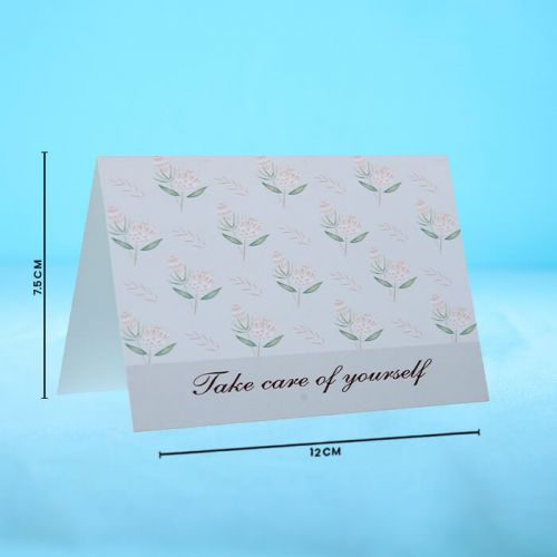 Take Care Of Yourself  - Message Card