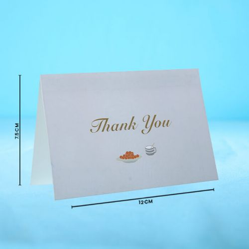 Thank You  - Message Card