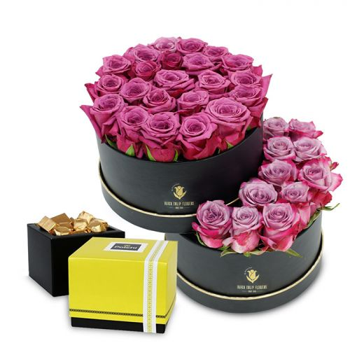 Unique Flower Box With Patchi