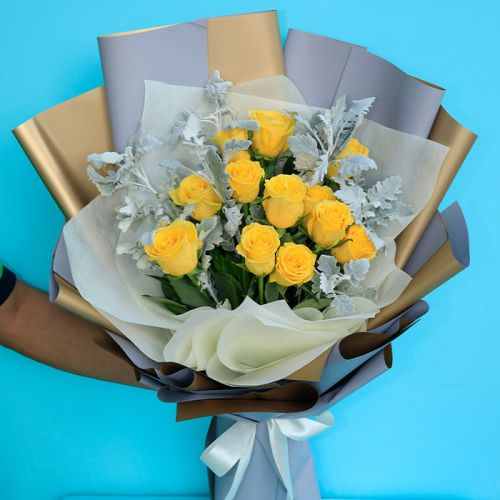 Yellow Rose Bouquet for every occasions.