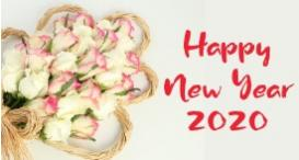 Top 5 ways to celebrate the year '2020' with flowers