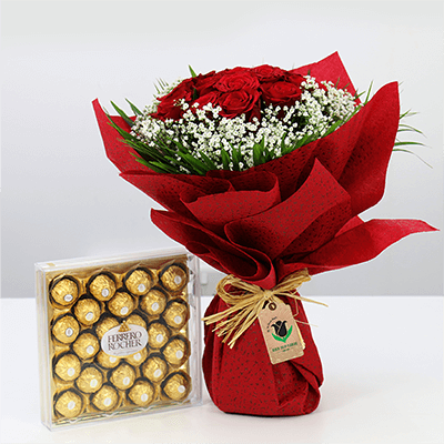 Flower combo delivery across UAE